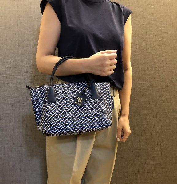 ROBERTA PIERI/【Tatami ND】スモールトートバッグ(2wayショルダー付き)/¥25,000+税
