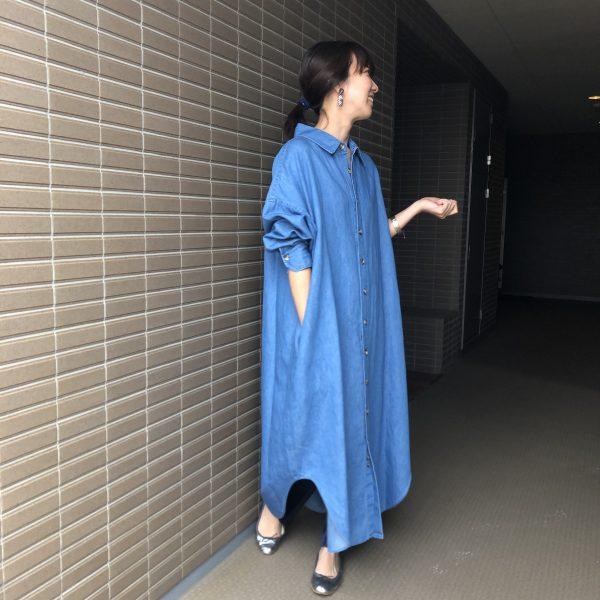 シンゾーン 着用 INDY SHIRT DRESS 19200円