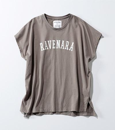 """MICA & DEAL """"RAVENARA""""pt t―shirt"""