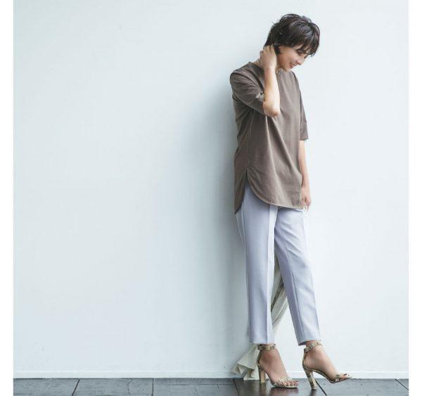 HusHusH(Ladies)/【福田麻琴さんコラボ】コットンTシャツ/¥3,399+税