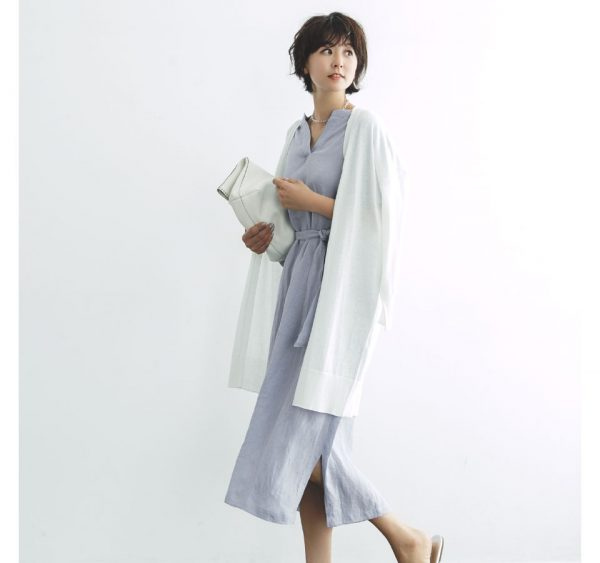 HusHusH(Ladies)/【福田麻琴さんコラボ】ロングカーディガン/¥3,999+税