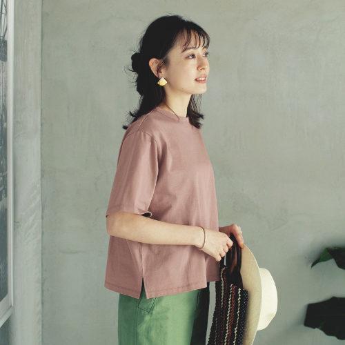 12closet(トゥエルブクローゼット)/【洗える】ボックスシルエットTシャツ/¥6,500+税