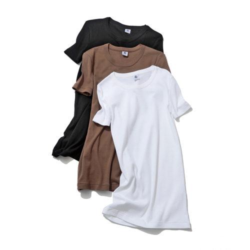 クルーネック半袖Tシャツ/2500