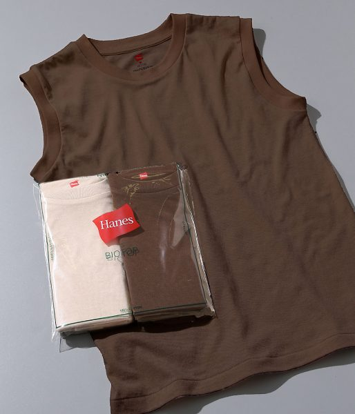 ADAM ET ROPE'/【Hanes for BIOTOP】Sleeveless T-Shirts(カラー)/¥4,800+税