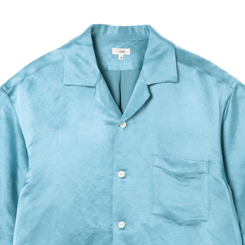 SCYE Silk and Paper Blend Satin Camp Collar Shirt image2