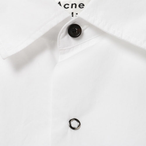 Acne Studios Short-Sleeved Cotton Poplin Shirt イメージ2