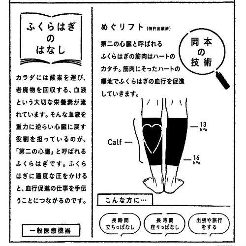 靴下サプリ    好きなときだけ!ふくらはぎ押し上げサポーター   ¥1,500+税