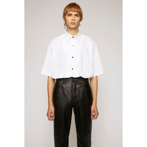 Acne Studios Short-Sleeved Cotton Poplin Shirt イメージ1