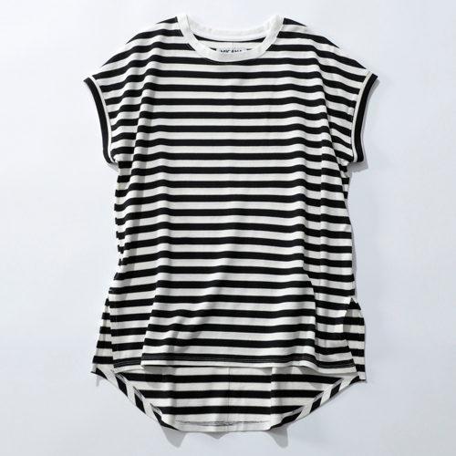 MICANA 【AMERICANA】×【MICA&DEAL】×【ONELUCK】サスティナブルボーダーTシャツ