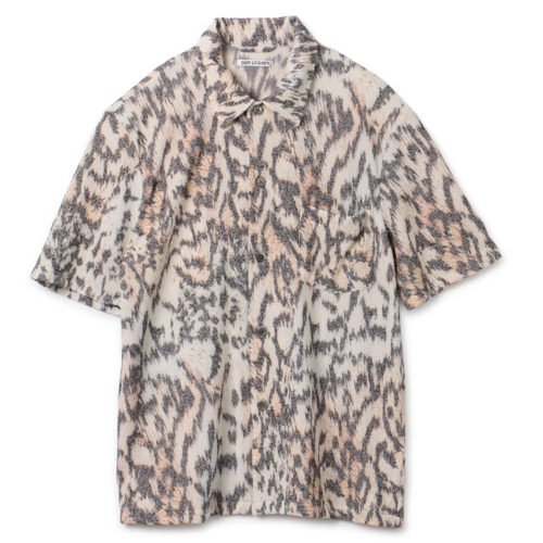 OUR LEGACY BOX SHIRT SHORTSLEEVE TIGER PRINT ¥37,000+税