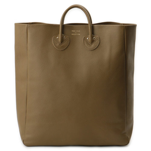 EMBOSSED LEATHER TOTE (SIZE L)/34000