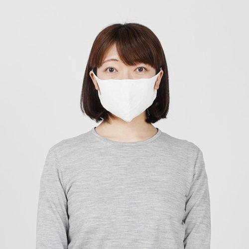 suadeo【MADE IN JAPAN 佐藤繊維】洗える抗菌和紙ニットマスク¥2,700+税