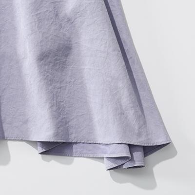 suadeo 【手洗い可】微起毛ロングフレアスカート イメージ2