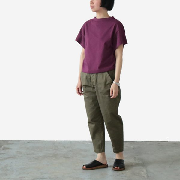 HAU sleeve tops daily スリーブトップス デイリー パープル ¥6,000+税