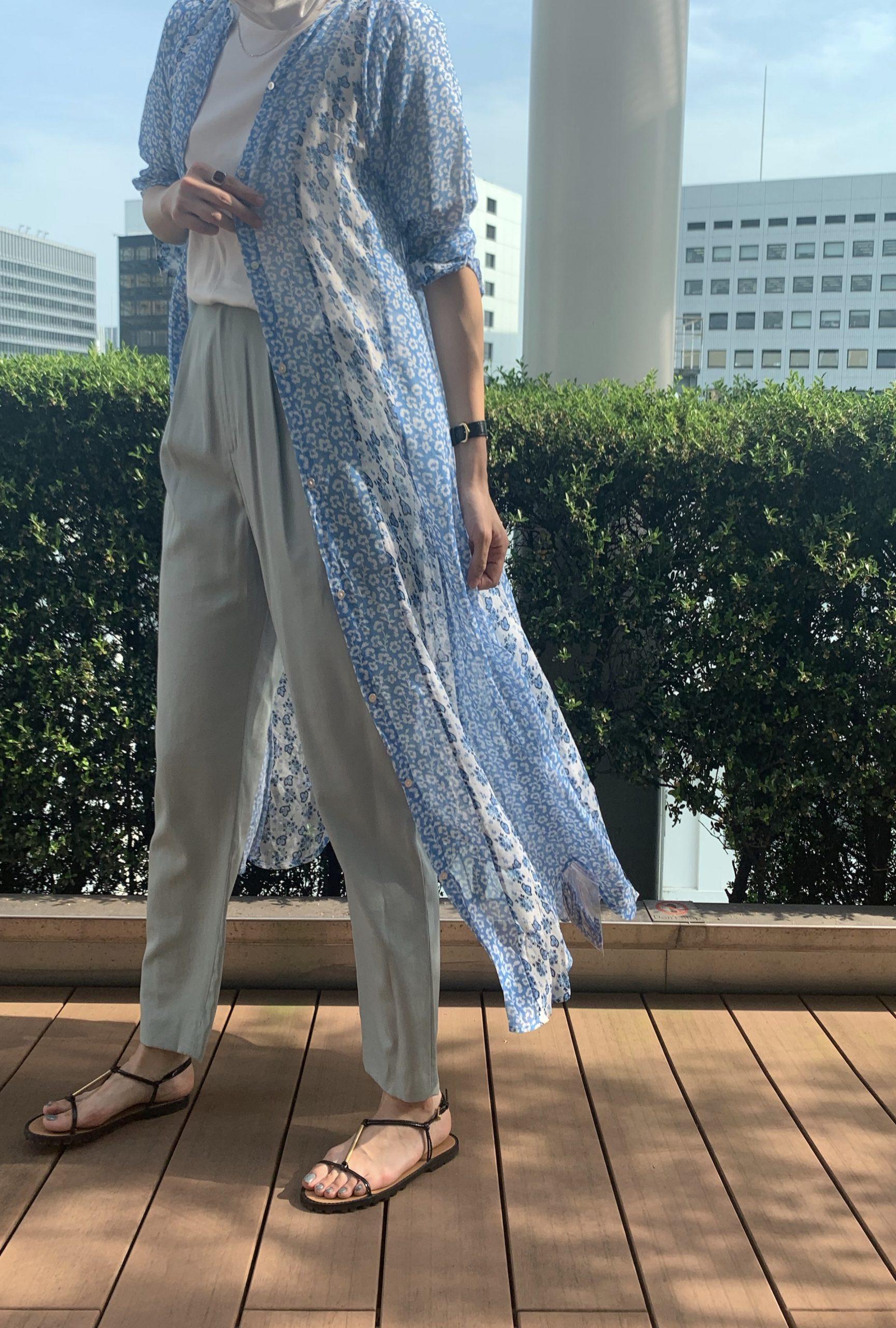 ne Quittez pas RAYON GGT FLOWER MIX SHIRT DRESS ¥20,000 ¥16,000+税(20%OFF)
