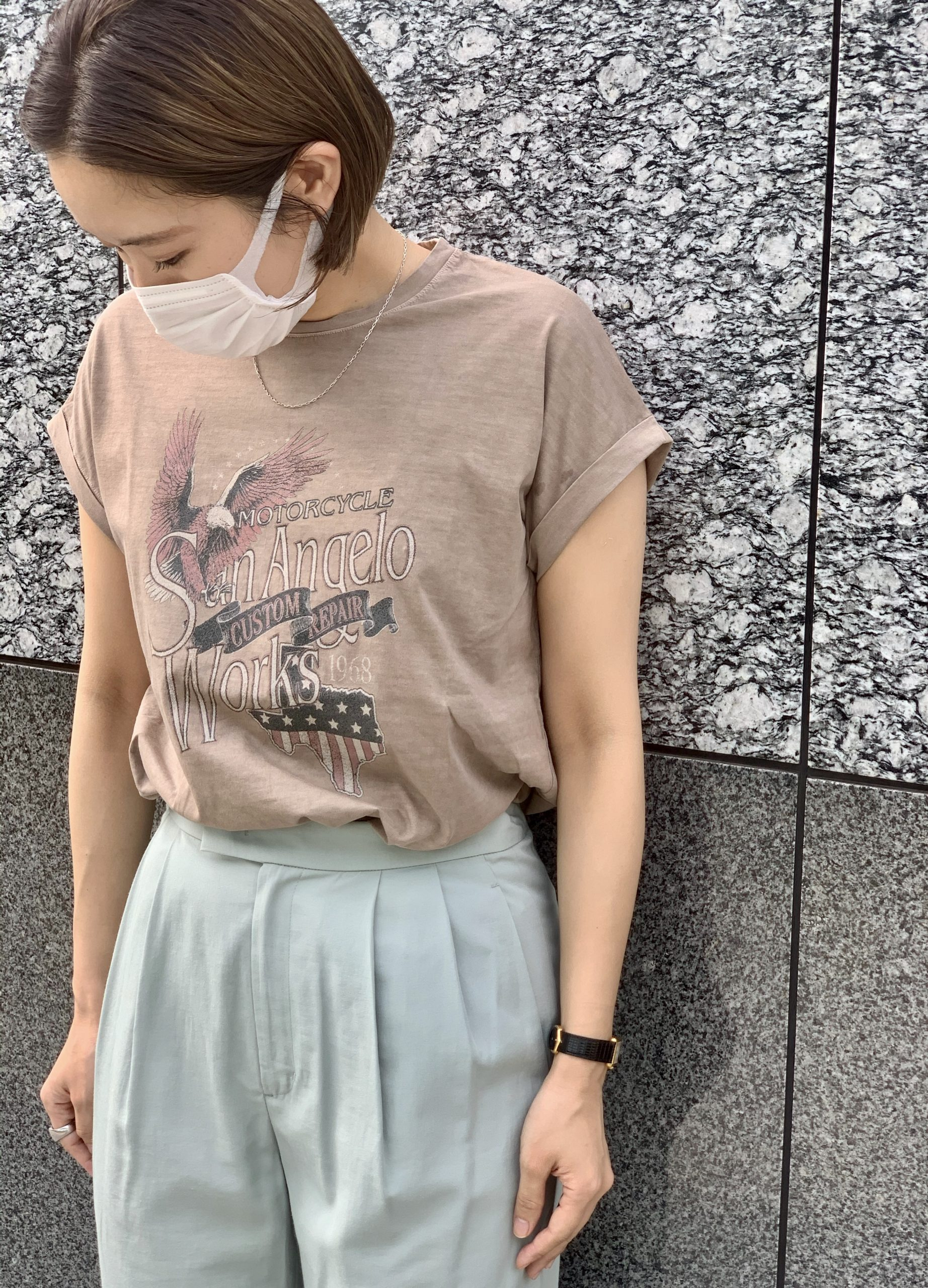MICA & DEAL eagle rock t-shirt ¥9,000+税