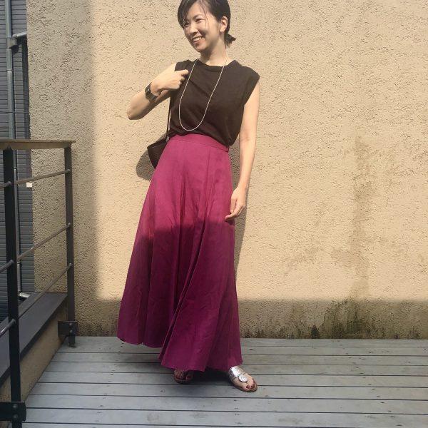 \エディター発田美穂さん着Vol.2/夏のワンツーコーデ