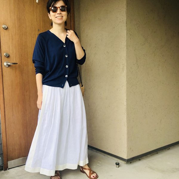 エディター発田美穂さん着Vol.1 夏のクリーンスタイル