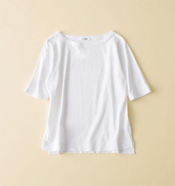 【玄長なおこさんコラボ】 ボートネックTシャツ