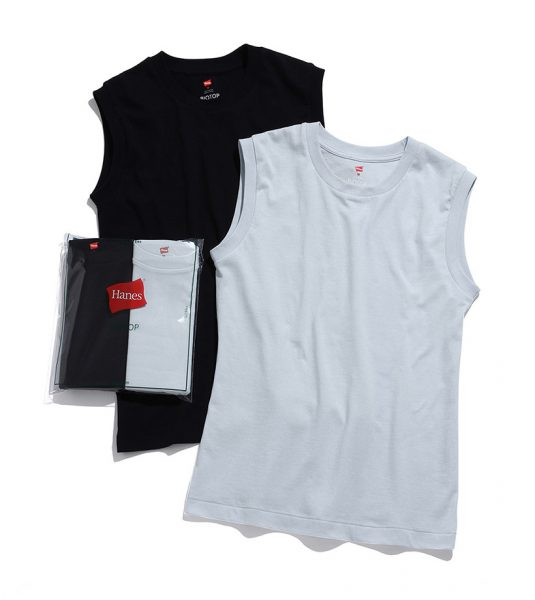 ADAM ET ROPE' 【Hanes for BIOTOP】Sleeveless T-Shirts(カラー)