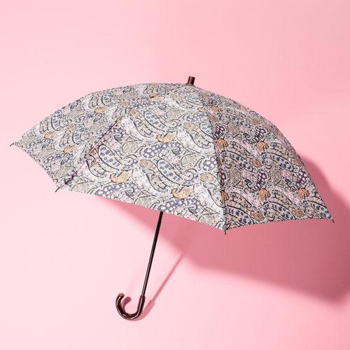 Cou Pole/【LIBERTY】リバティプリント晴雨兼折畳み傘(サクラハンドル)/¥9,800+税