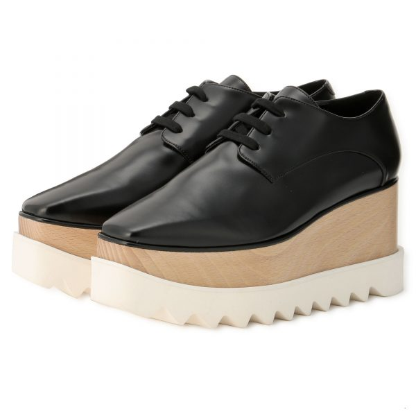 STELLA McCARTNEY ELYSE LACE UP FELIK ¥99,000+税