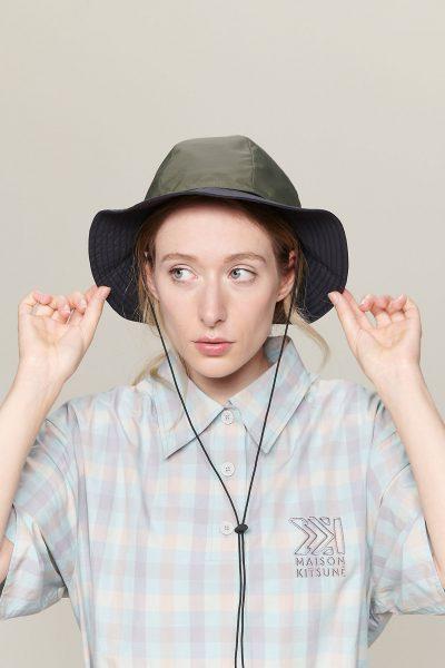 MAISON KITSUNE REVERSIBLE HAT ¥16,500+税