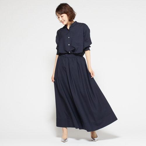 M7days リネンライクマキシスカート ¥15,000 ¥7,000+税(54%OFF)