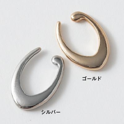 オーバルイヤカフ(シルバー・ゴールド)/12closet