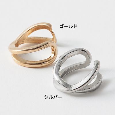 クロスイヤカフ(ゴールド・シルバー)/12closet