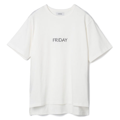 SINME HAPPY PLUS限定 FRIDAY Tシャツ