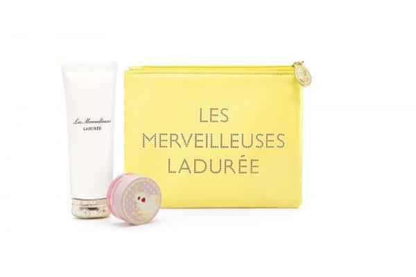 【数量限定】Les Merveilleuses LADUREEより人気UVクリーム・チーク・ポーチのセット「デイクリーム キット」発売スタート。