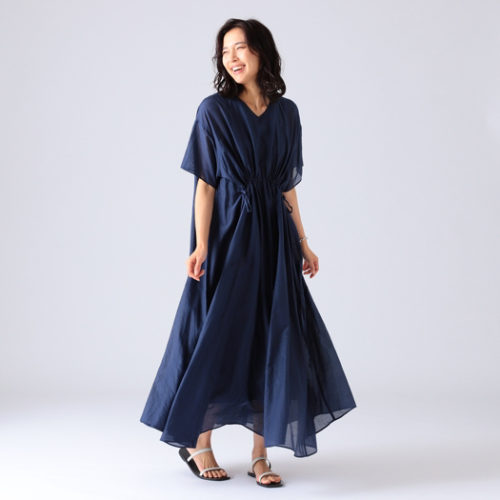 Demi-Luxe BEAMS/AK+1 / ドロスト オーバードレス/¥34,000→ ¥20,400+税(40%OFF)