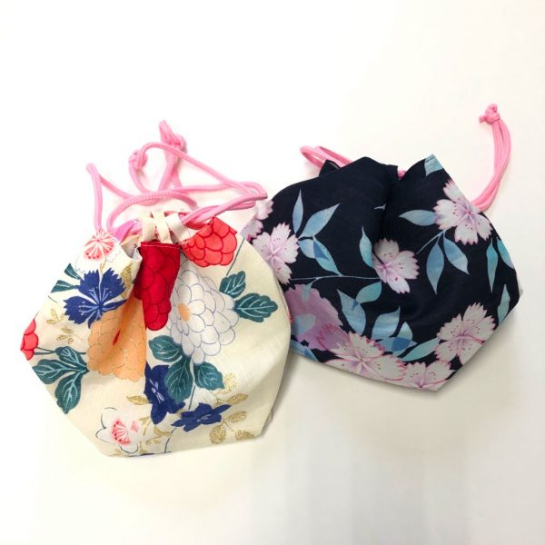 ハピプラストア 夏の浴衣プレゼントキャンペーン/巾着プレゼントイメージ