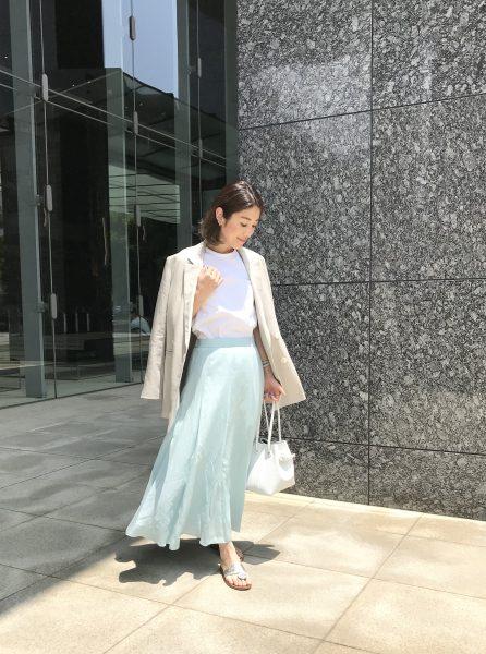 美女組×M7days Style part.1 『M7days さらふわマキシスカート × yukieさん』