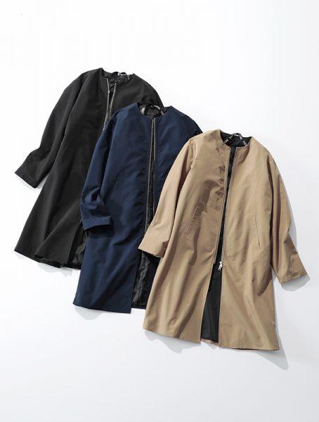 suadeo 【手洗い可】TAIONコラボ 新インナーダウン付3WAYコート ¥13,000