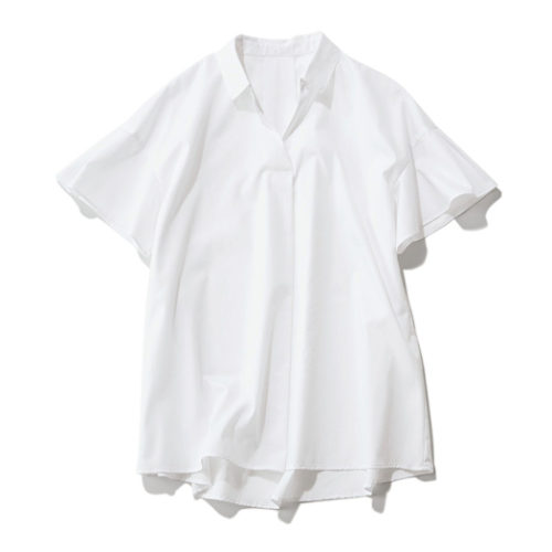 【洗える】スキッパーシャツ