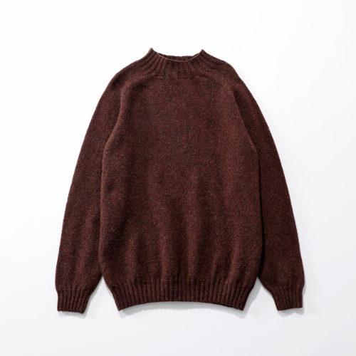 suadeo 【Harley】コラボレーション オーバーサイズモックネックセーター ¥14,000+税