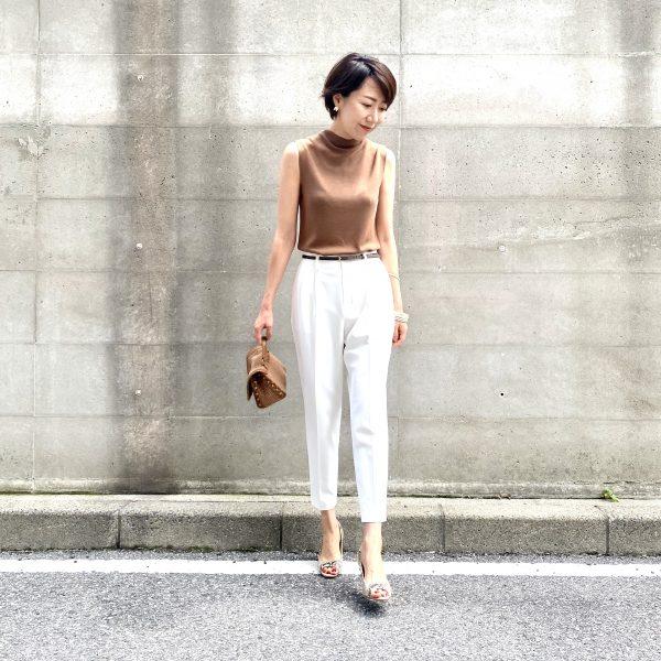 美女組×M7days Style part.3 『M7days 高機能テーパードパンツ × ritsukoさん』