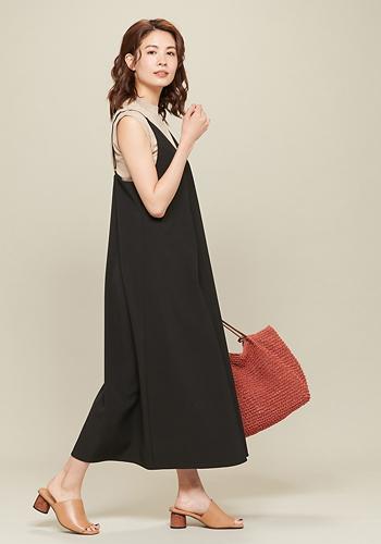 ROPE' PICNIC/【新色追加】【WEB限定】キャミソールジャンパースカート/¥4,990+税