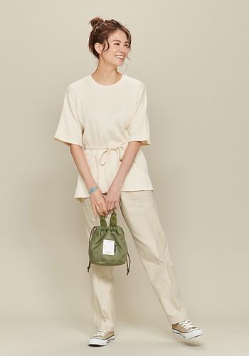 Baserange/Shaw Tee - Fleece RIB/¥13,500+税