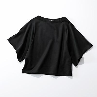 M・fil 定番ラージアームTシャツ