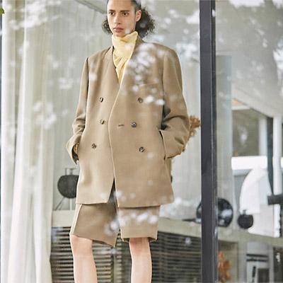 AKIRANAKA Kael solid jacket