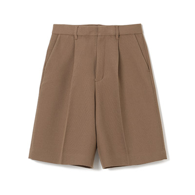 AKIRANAKA Kael solid short pants