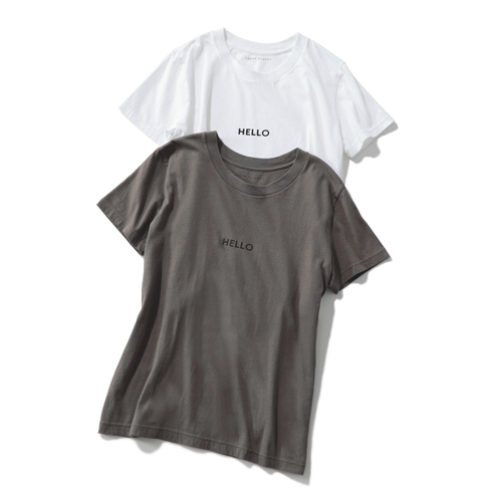 LEEマルシェおススメ!何枚あっても便利な大人Tシャツ