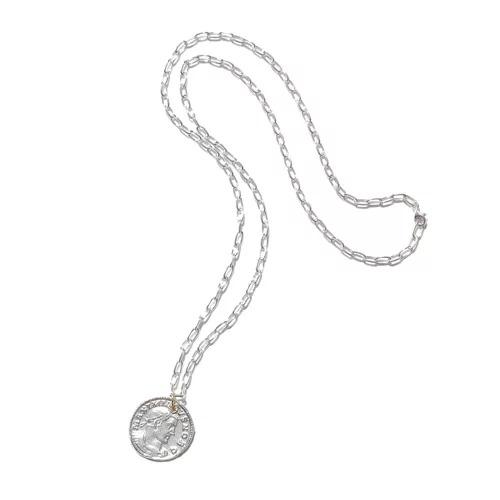 GIGI Roman coin necklace(FOLLIS)  ¥36,000+税