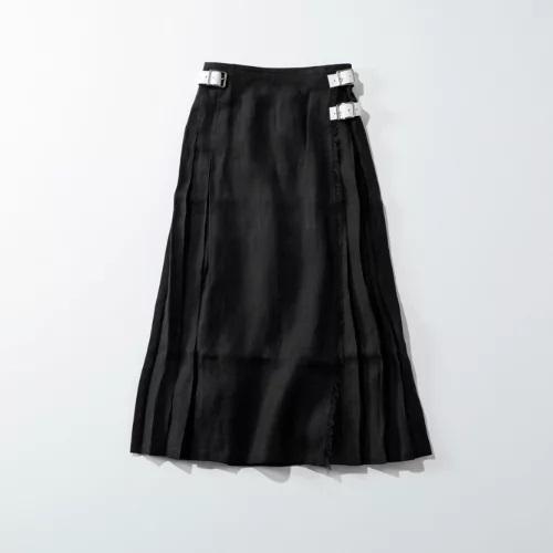 O'Neil Of Dublin 【着丈が選べる】リネンキルトスカート ¥25,000  ¥15,000+税(40%OFF)