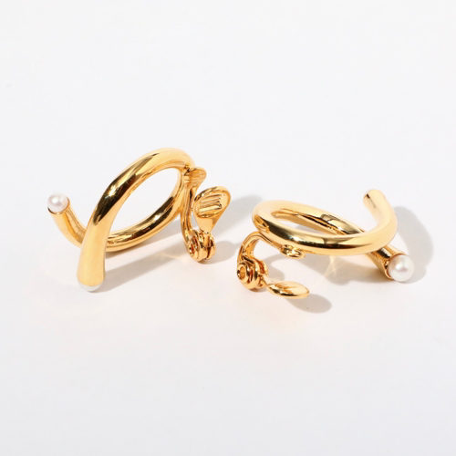 jour couture/【ringle.02】フープイヤリング/¥7,500+税