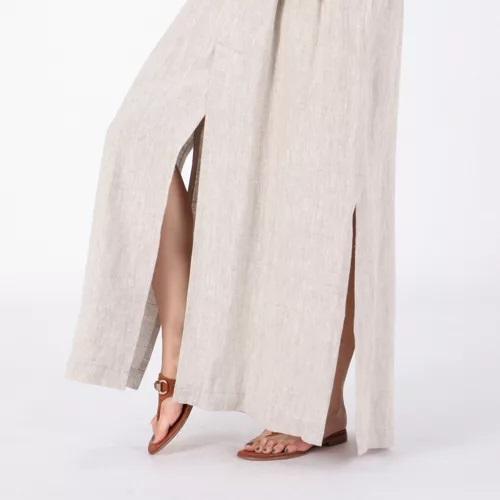 INSCRIRE Linen Tuck Skirt ¥45,000  ¥22,500+税(50%OFF)