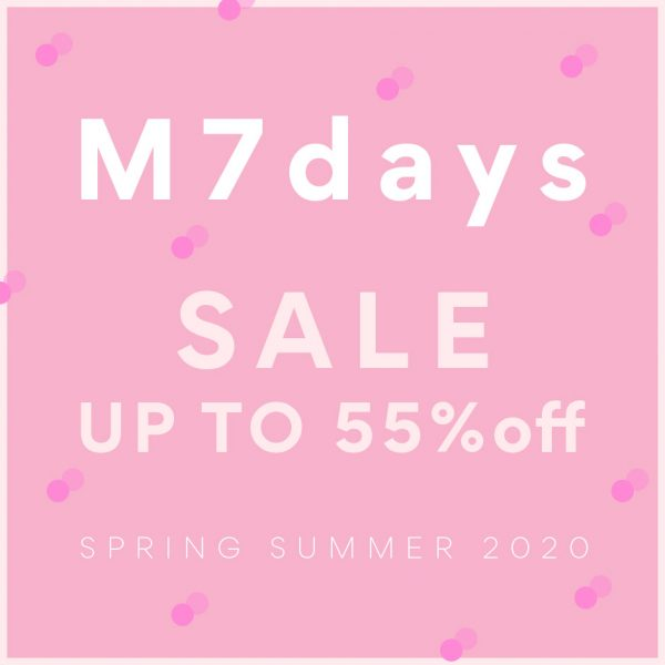 2020SS M7days SALE